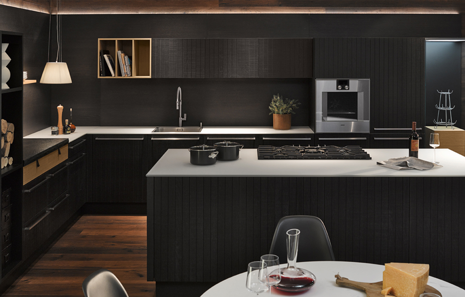 chalet k chen weiss arzberg. Black Bedroom Furniture Sets. Home Design Ideas